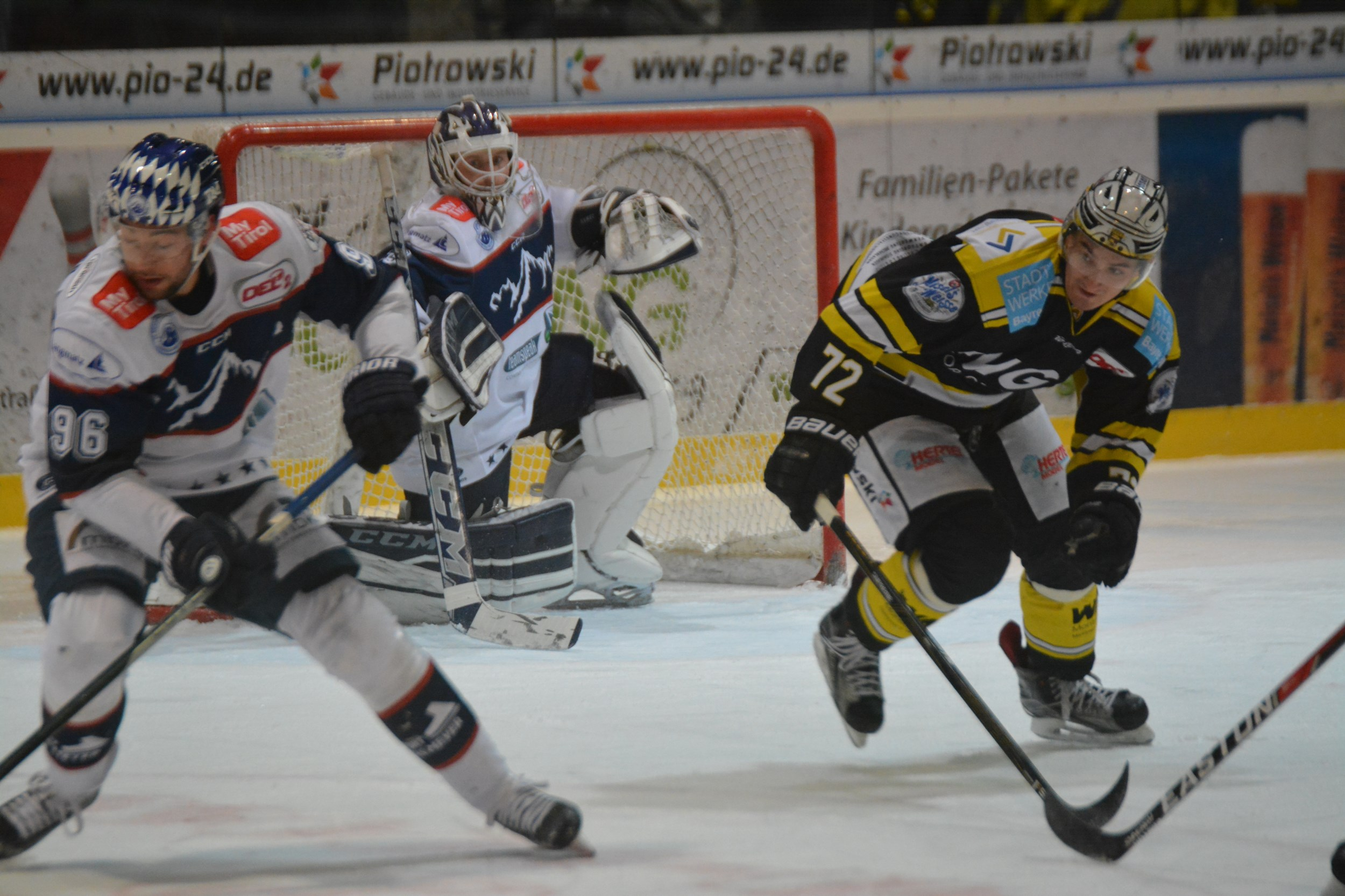 DEL 2   EHC Bayreuth Vs. SC Riessersee 138 2500x2100