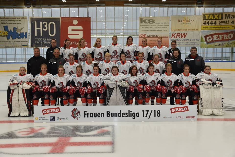 Memmingen Indians Frauen 2017 2018