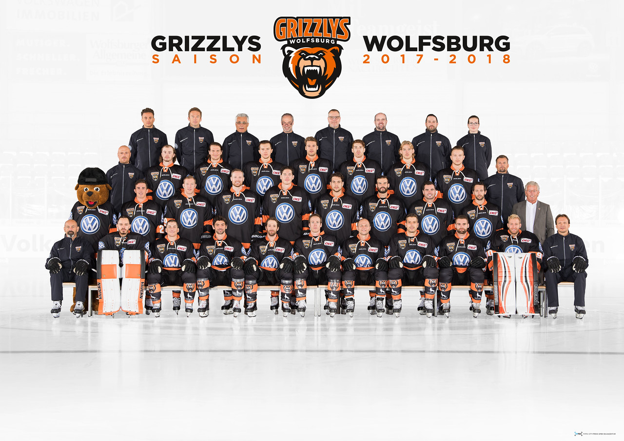Grizzlys Wolfsburg Team2017 2018