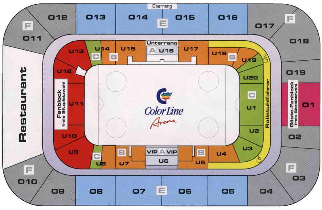 Color Line Arena Eishockey 1